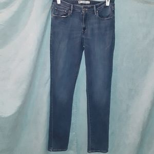Levi's mid-rise skinny stretch jeans